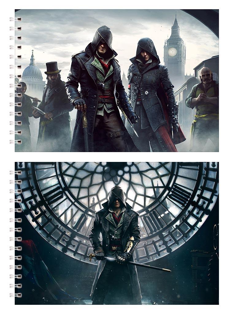 Альбом для рисования Assassin's Creed / Кредо ассасина