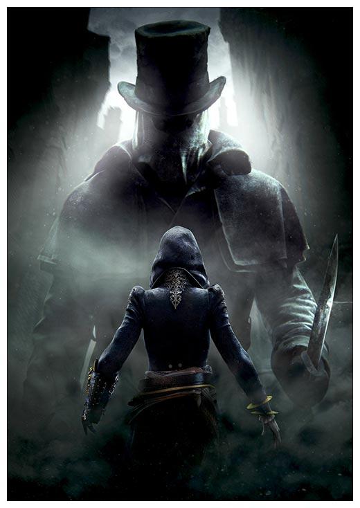Портретный постер Assassin's Creed / Кредо ассасина