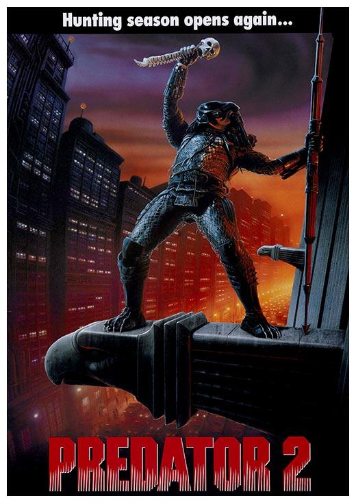 Портретный постер Predator / Хищник
