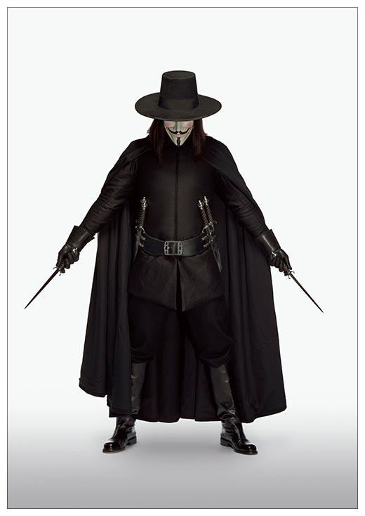 Портретный постер V for Vendetta / V значит Вендетта