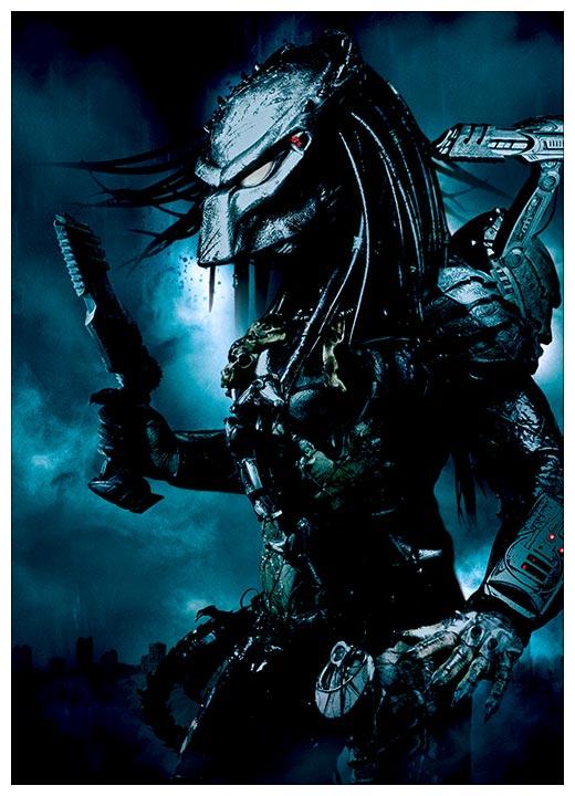 Панорамный постер Aliens vs Predator / Чужие против Хищника