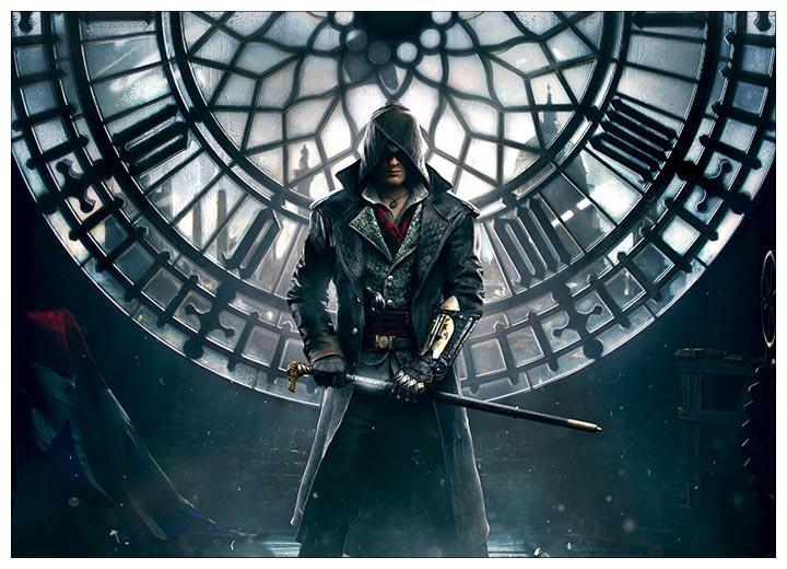 Панорамный постер Assassin's Creed / Кредо ассасина