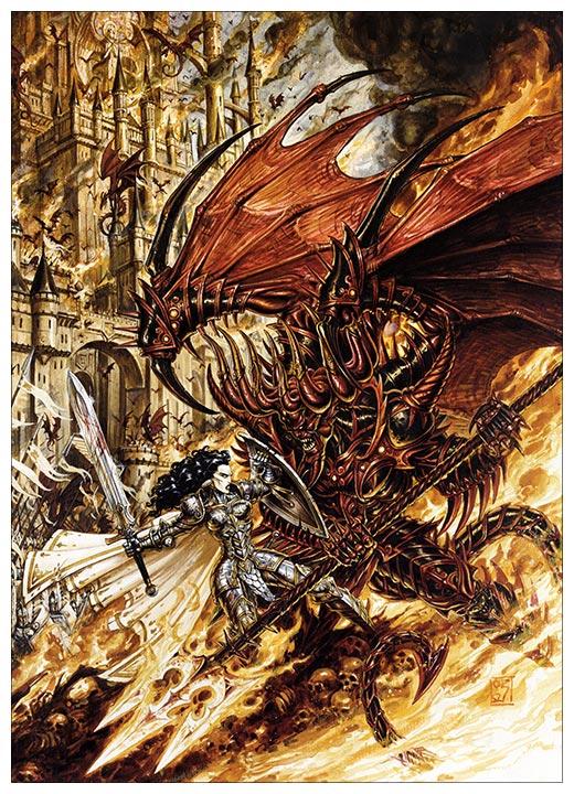 Панорамный постер Heroes of Might and Magic / Герои меча и магии
