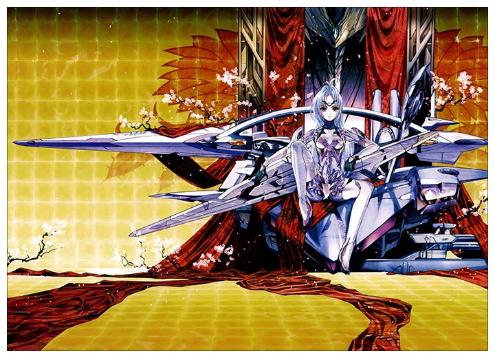 Панорамный постер KOS-MOS / KOS-MOS