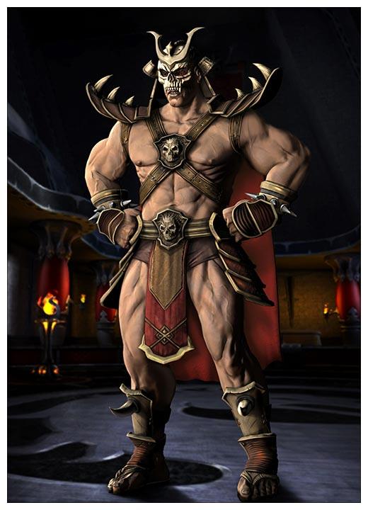 Панорамный постер Mortal Kombat / Смертельная схватка