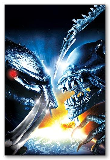 Гибкий магнит (маленький) Aliens vs Predator / Чужие против Хищника