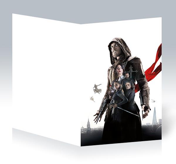 Поздравительная открытка Assassin's Creed / Кредо ассасина