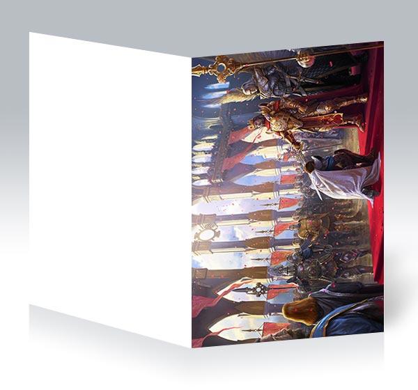 Поздравительная открытка Heroes of Might and Magic / Герои меча и магии