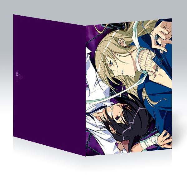 Поздравительная открытка аниме