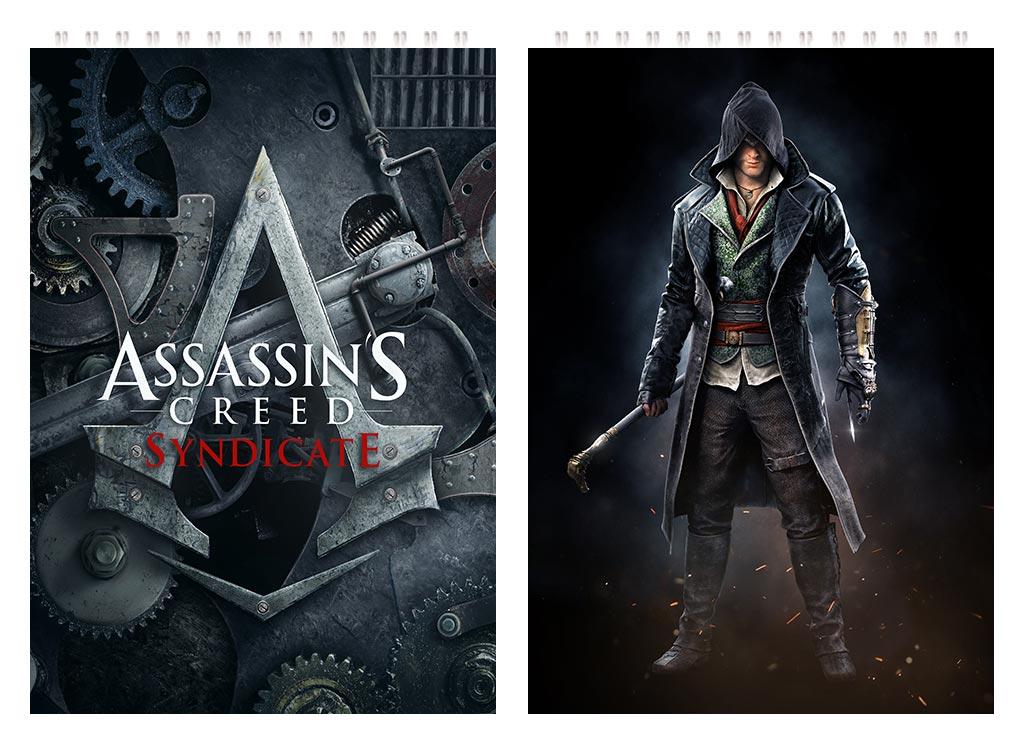 Большой скетчбук Assassin's Creed / Кредо ассасина