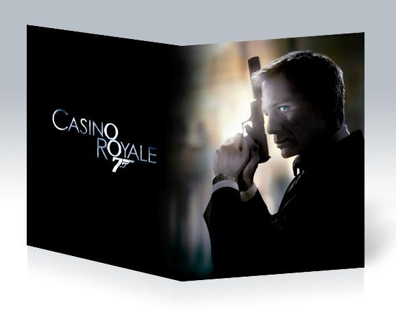 Школьная тетрадь James Bond: Casino Royale / Джеймс Бонд: Казино Рояль