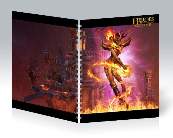 Общая тетрадь Heroes of Might and Magic / Герои меча и магии