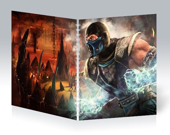 Общая тетрадь Mortal Kombat / Смертельная схватка