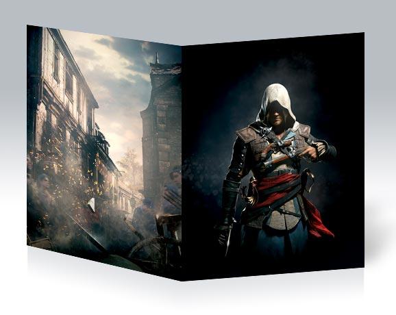 Тонкая школьная тетрадь Assassin's Creed / Кредо ассасина