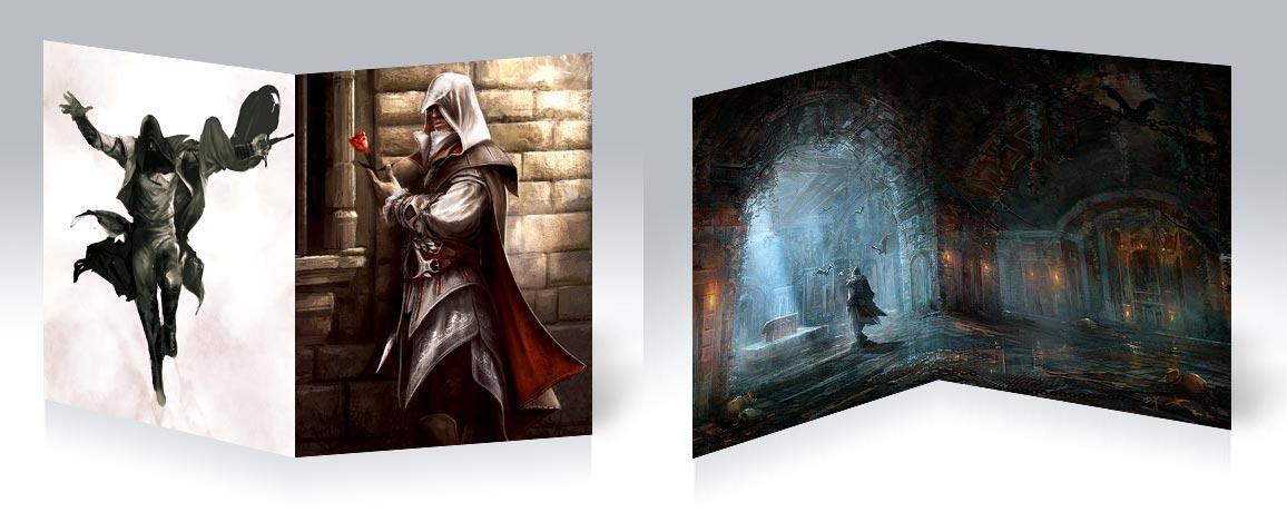 Тетрадь для конспектов Assassin's Creed / Кредо ассасина