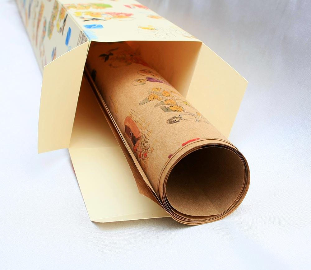 Купить обёрточная бумага
