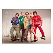 Настенный календарь Big Bang Theory