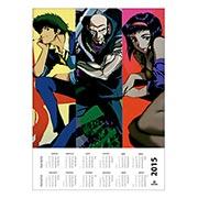 Купить настенные календари Cowboy Bebop