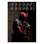 Настенный календарь Deadpool