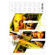 Настенный календарь по аниме/манге Fast and the Furious