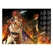 Купить настенные календари Hiiro no Kakera