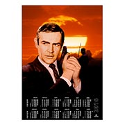 Настенный календарь James Bond: You Only Live Twice