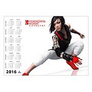 Купить настенные календари Mirror's Edge