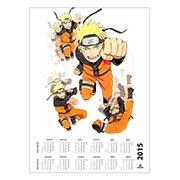 Купить настенные календари Naruto