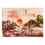 Купить настенные календари Okami