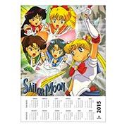 Купить настенные календари Sailor Moon