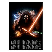 Настенный календарь по аниме/манге Star Wars