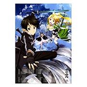 Настенный календарь по аниме/манге Sword Art Online