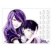 Купить настенные календари Tokyo Ghoul