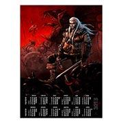 Купить настенные календари Witcher