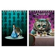 Блокнот для рисования Alice in Wonderland
