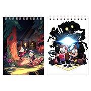 Купить блокноты для рисования Gravity Falls