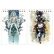 Купить блокноты для рисования Pixiv Girls