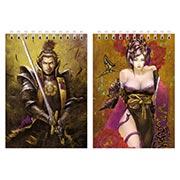 Купить блокноты для рисования Samurai Warriors