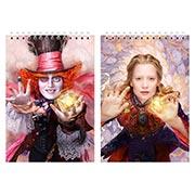 Купить альбомы для рисования Alice Through the Looking Glass