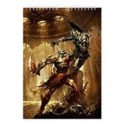 Альбом для рисования God of War