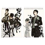 Купить альбомы для рисования Kuroshitsuji