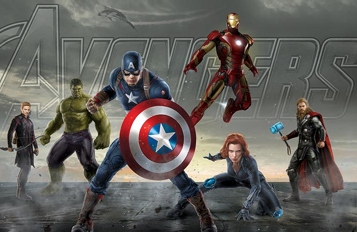 Настольный календарь Avengers