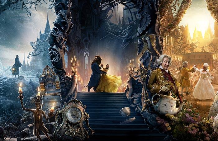 Настольный календарь Beauty and the Beast