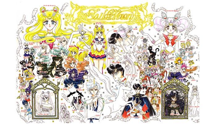 Настольный календарь Sailor Moon