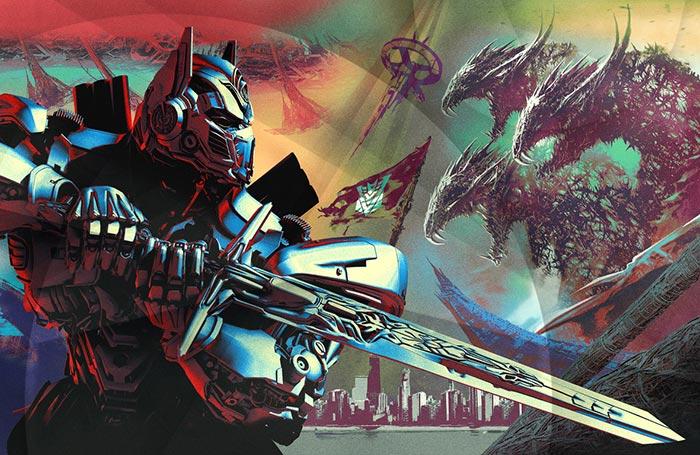 Настольный календарь Transformers