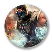 Большой значок Mortal Kombat