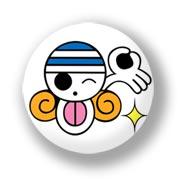 Маленький значок One Piece