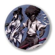 Купить гигантские значки Afrosamurai