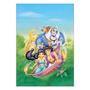 Купить портретные постеры Aladdin