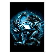 Купить портретные постеры Aliens vs Predator